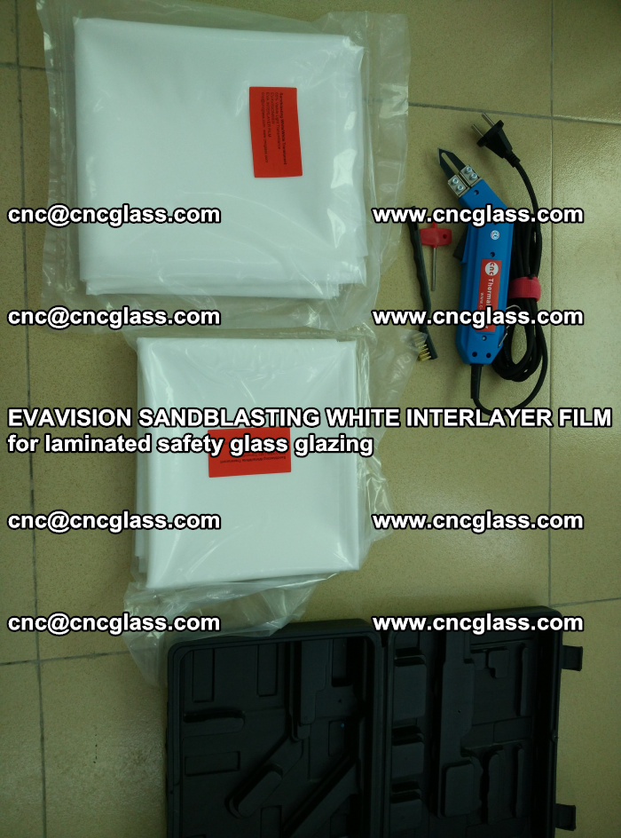 EVAVISION SANDBLASTING WHITE INTERLAYER FILM for laminated safety glass glazing (3)