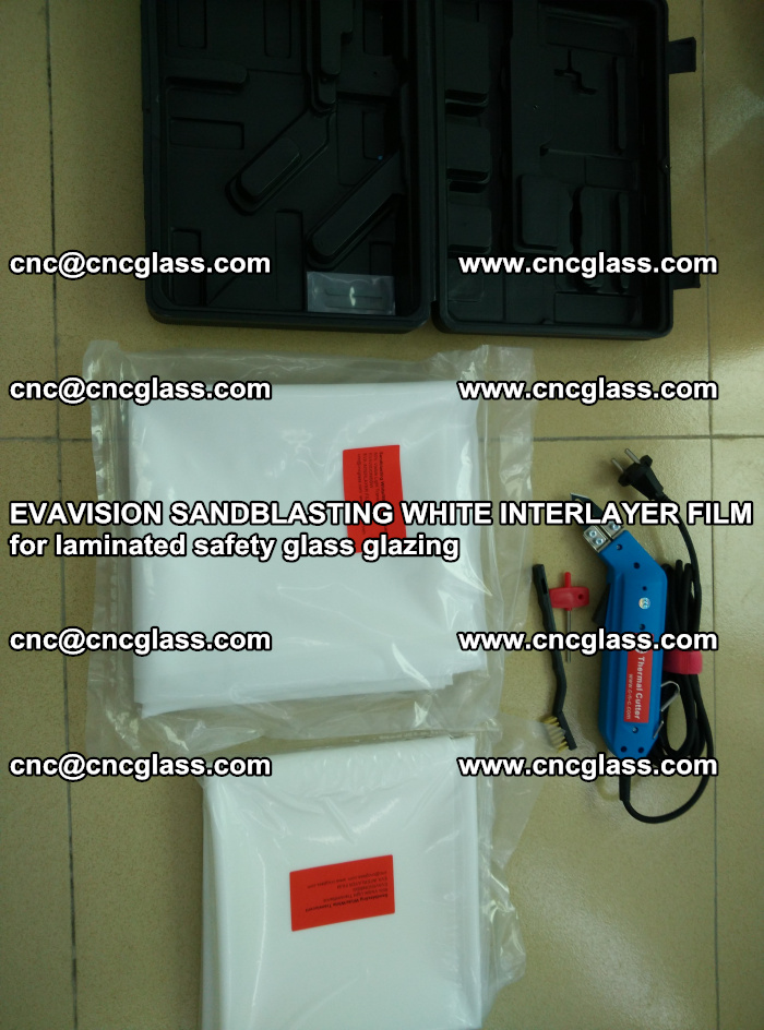 EVAVISION SANDBLASTING WHITE INTERLAYER FILM for laminated safety glass glazing (37)