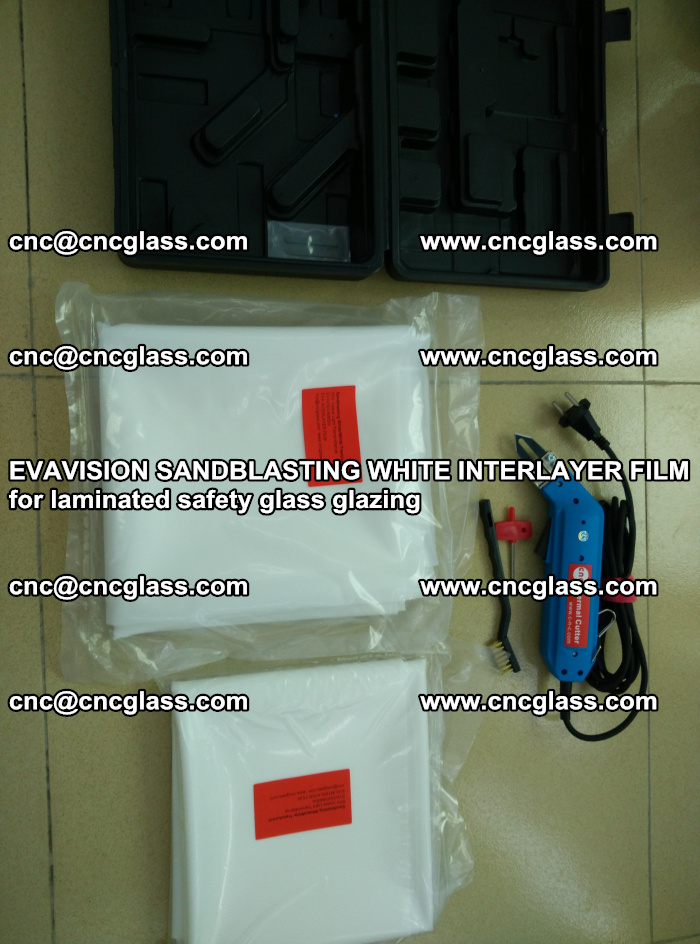EVAVISION SANDBLASTING WHITE INTERLAYER FILM for laminated safety glass glazing (39)