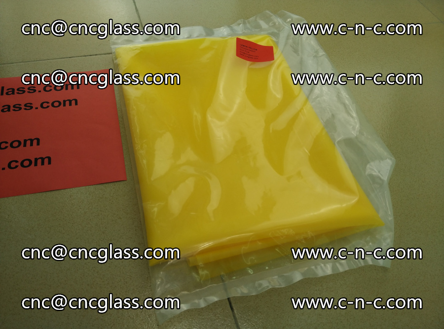 EVA glass interlayer film transparent color LEMON (1)