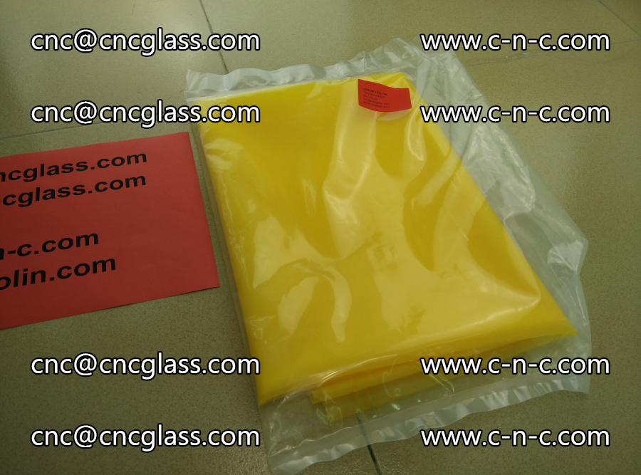 EVA glass interlayer film transparent color LEMON (2)