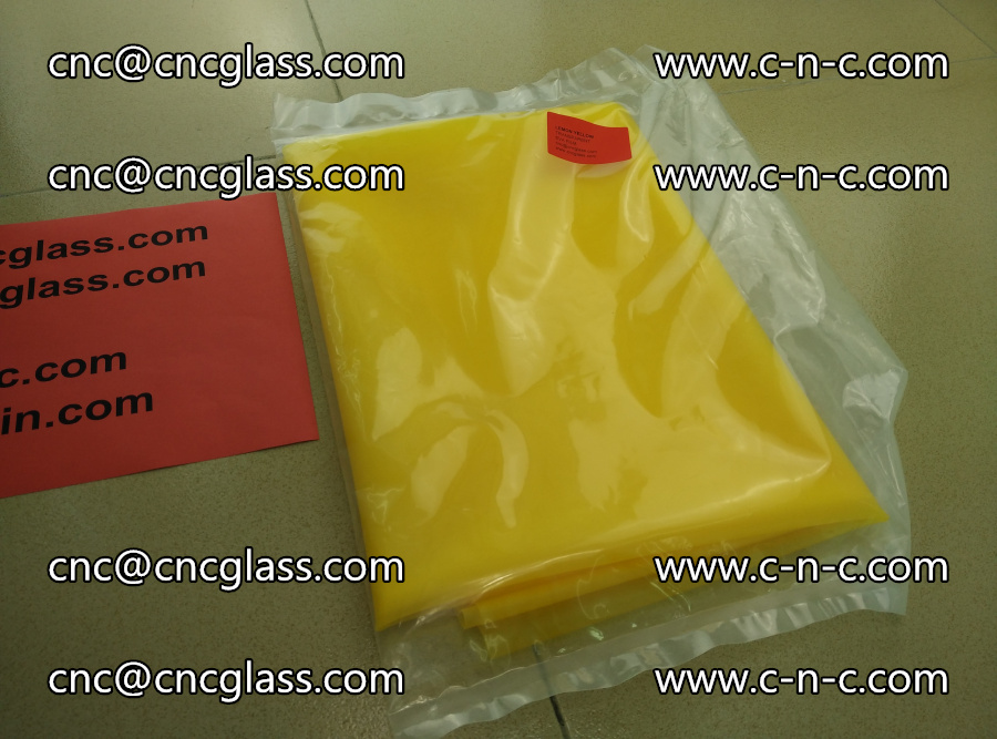 EVA glass interlayer film transparent color LEMON (3)