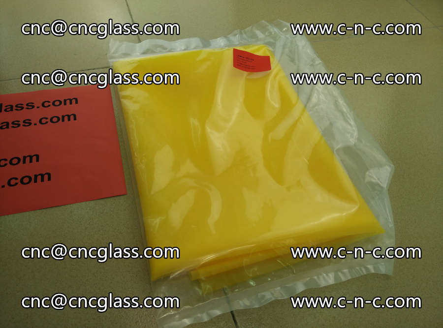 EVA glass interlayer film transparent color LEMON (4)