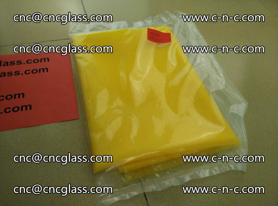 EVA glass interlayer film transparent color LEMON (5)