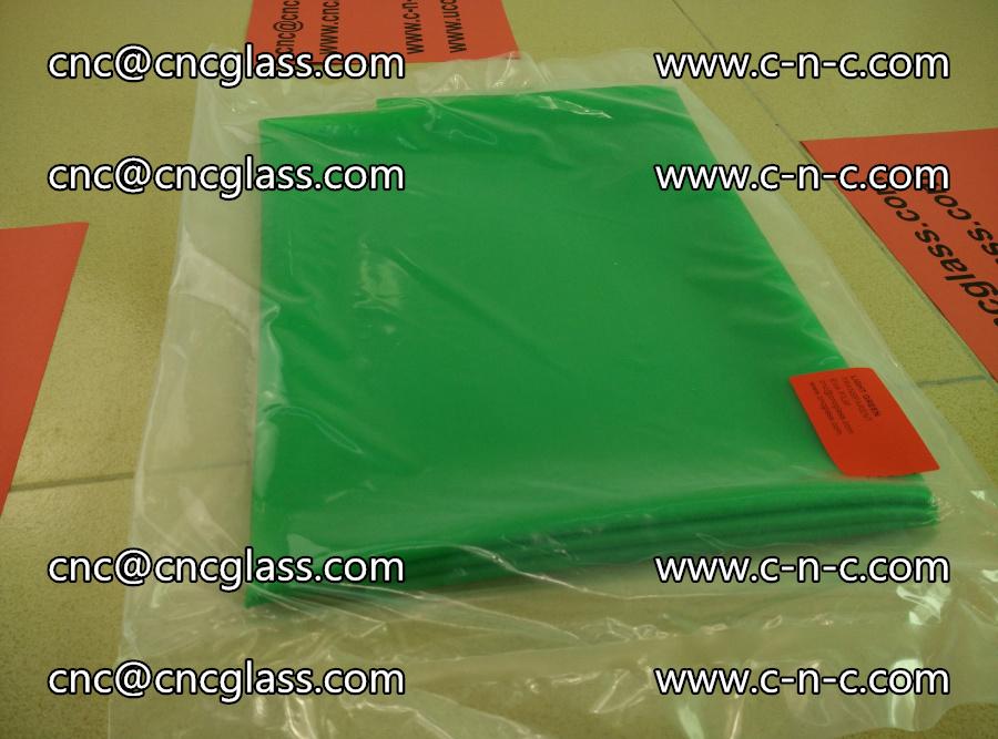 EVA glass interlayer film transparent color LIGHT green (1)