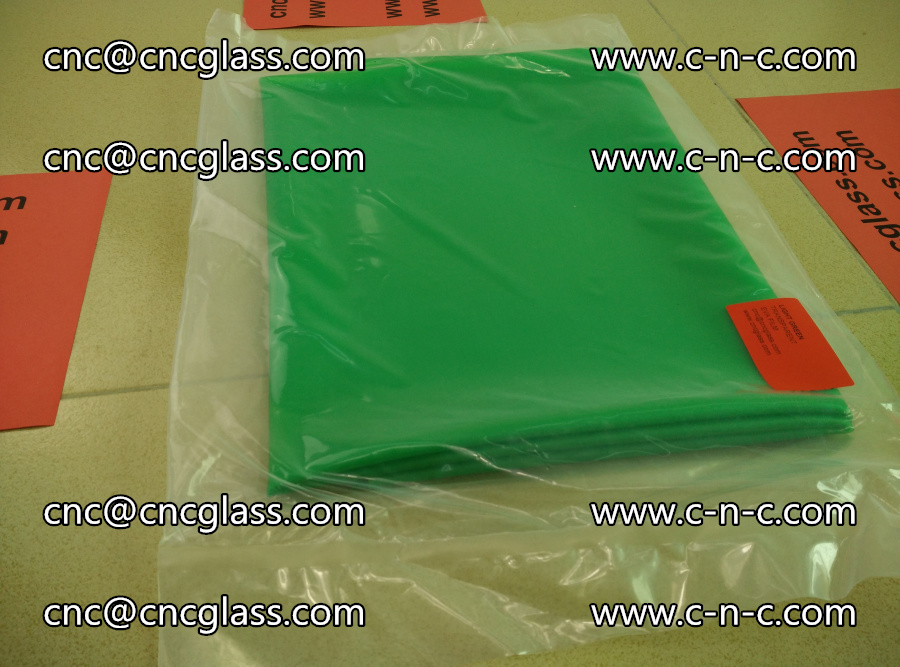 EVA glass interlayer film transparent color LIGHT green (4)