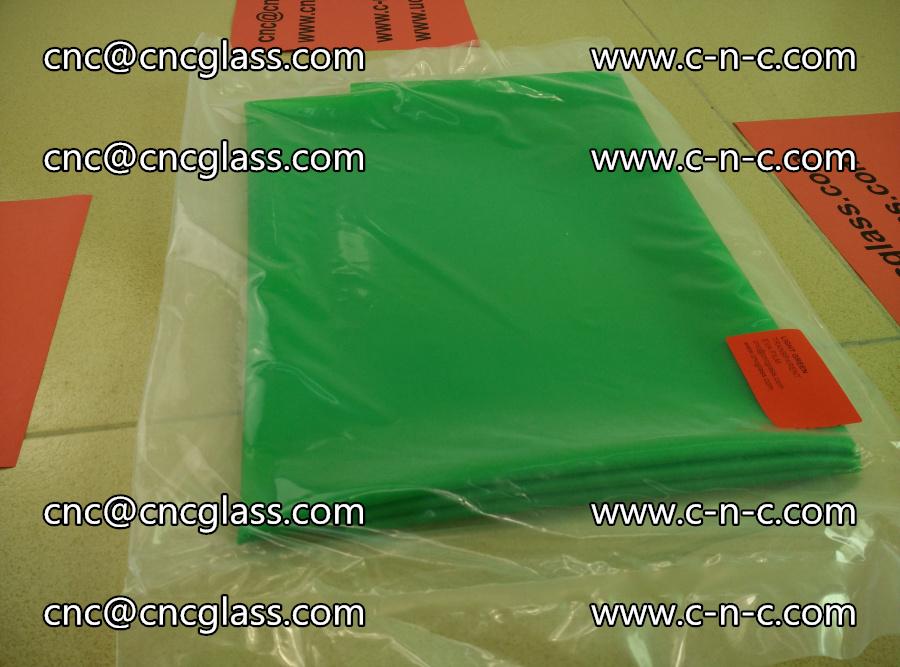 EVA glass interlayer film transparent color LIGHT green (5)