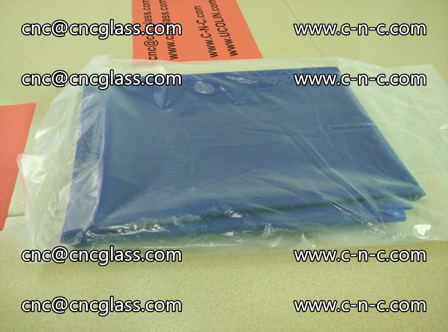 EVA glass interlayer film transparent color blue (3)