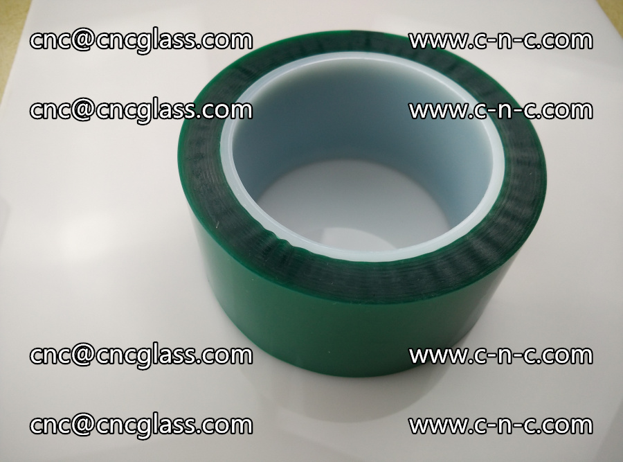 PET GREEN TAPE for laminated glass safety glazing (1)