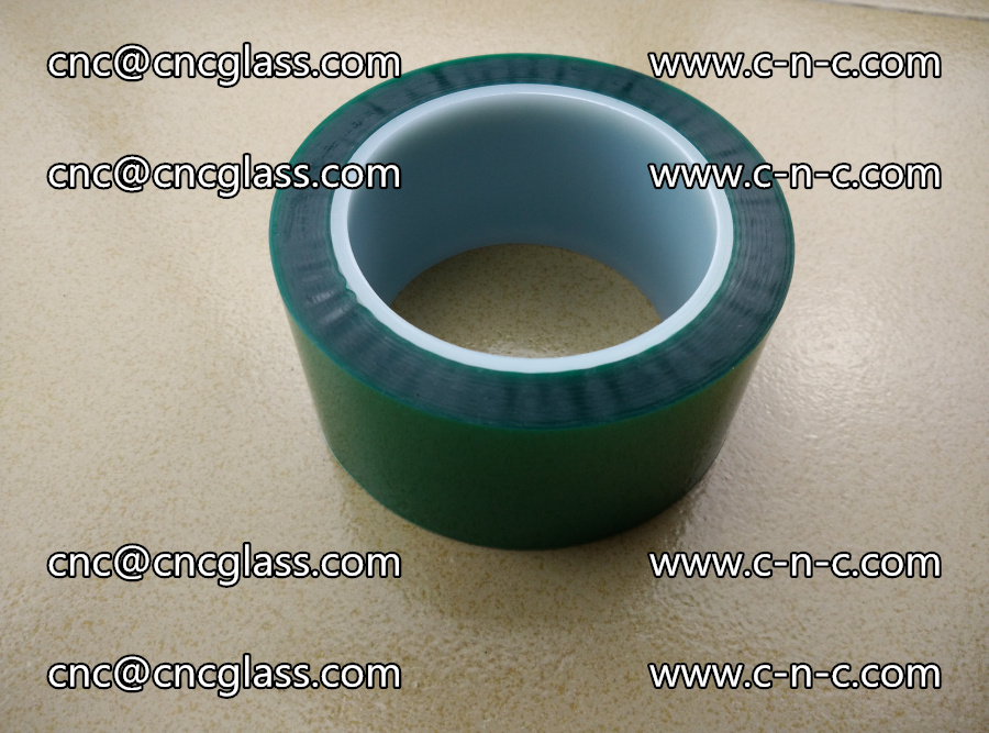 PET GREEN TAPE for laminated glass safety glazing (10)