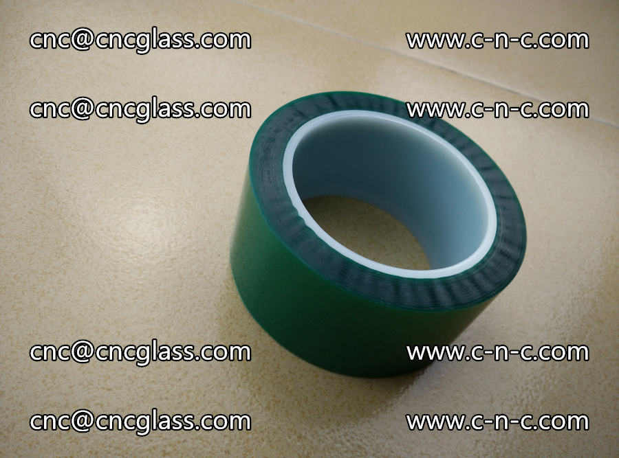 PET GREEN TAPE for laminated glass safety glazing (14)