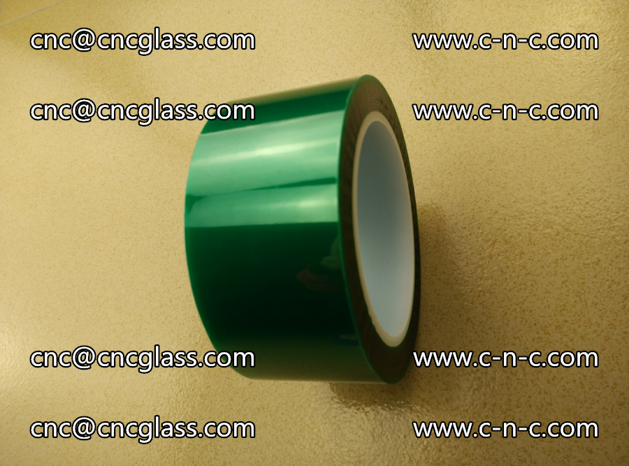 PET GREEN TAPE for laminated glass safety glazing (15)
