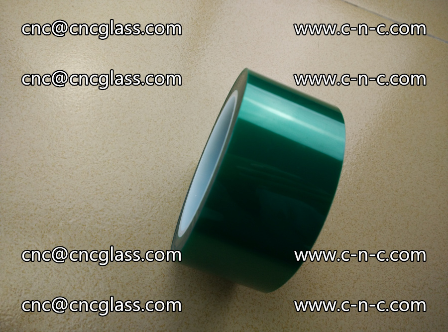 PET GREEN TAPE for laminated glass safety glazing (16)