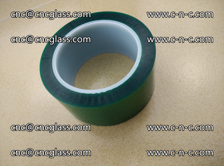 PET GREEN TAPE for laminated glass safety glazing (19)