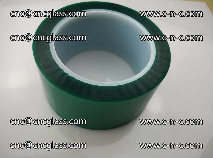 PET GREEN TAPE for laminated glass safety glazing (27)