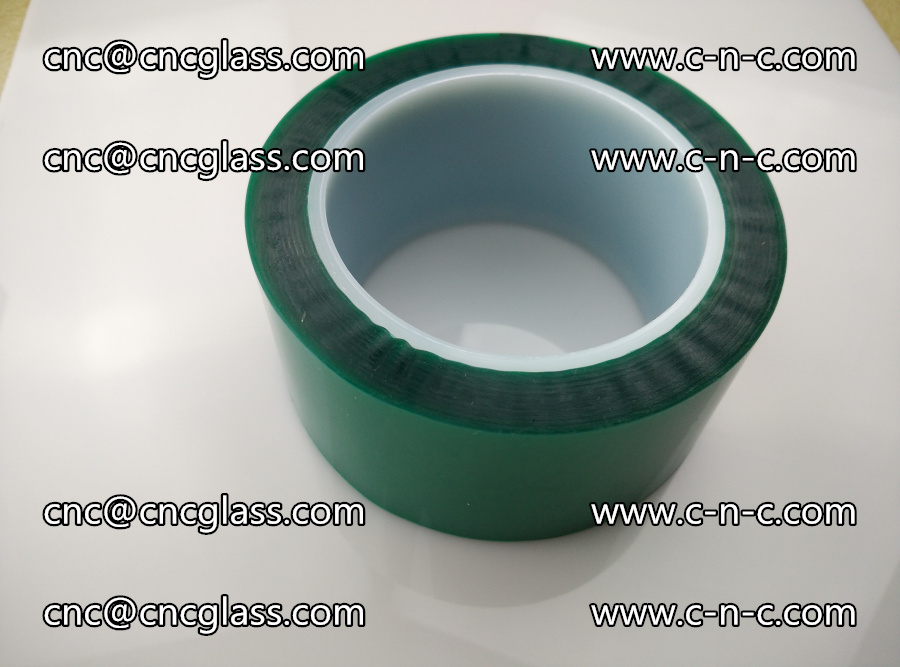 PET GREEN TAPE for laminated glass safety glazing (34)