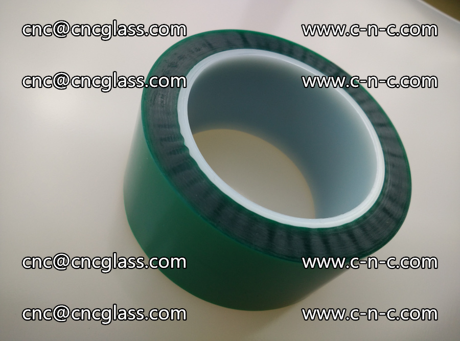 PET GREEN TAPE for laminated glass safety glazing (6)