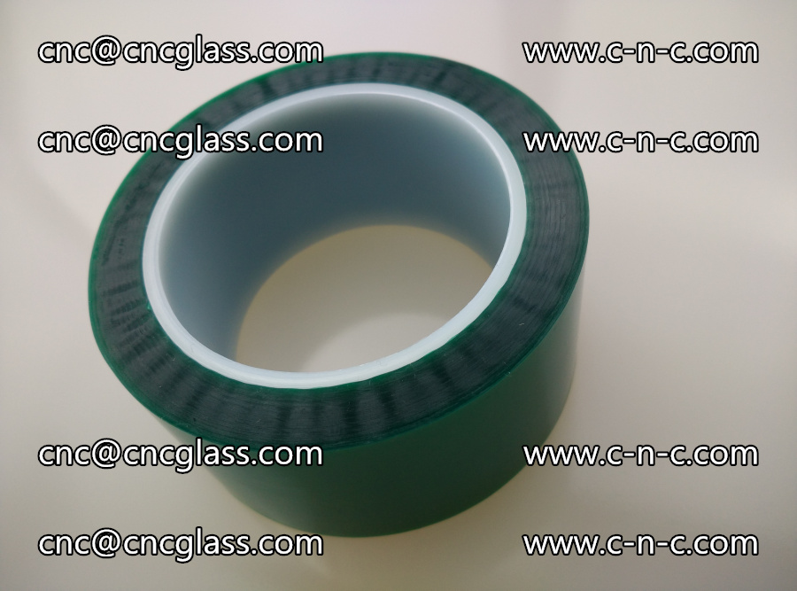 PET GREEN TAPE for laminated glass safety glazing (8)