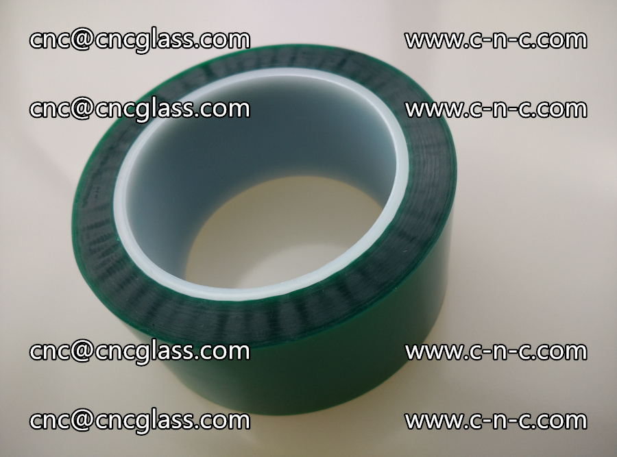 PET GREEN TAPE for laminated glass safety glazing (9)