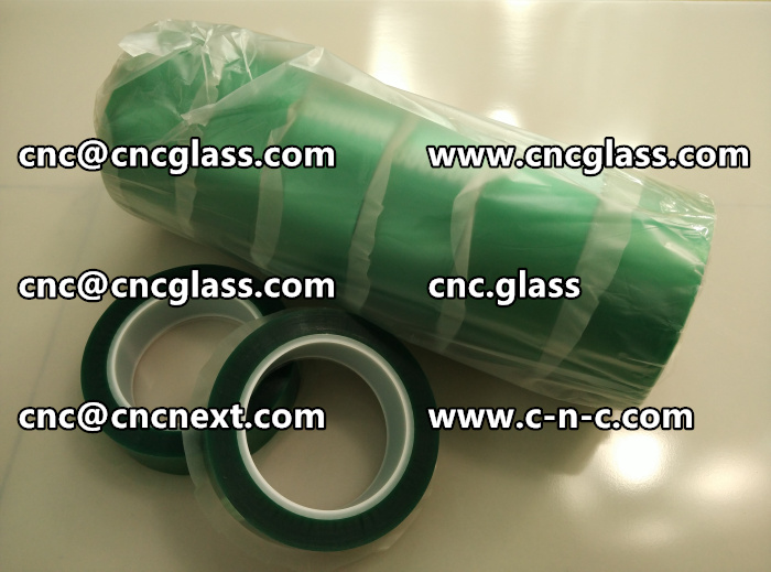 HIGH TEMP GREEN TAPE FOR GLAZING (13)