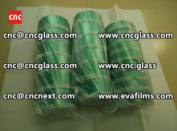 HIGH TEMP GREEN TAPE FOR SAFETY GLASS INTERLAYER TRIMMING (3)