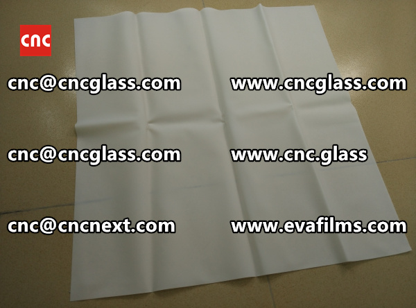 Laminated safety glass EVA-based densely cross-linked interlayer (16)