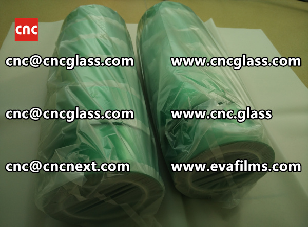 HIGH TEMPERATURE PET GREEN TAPE for safety glazing  (1)