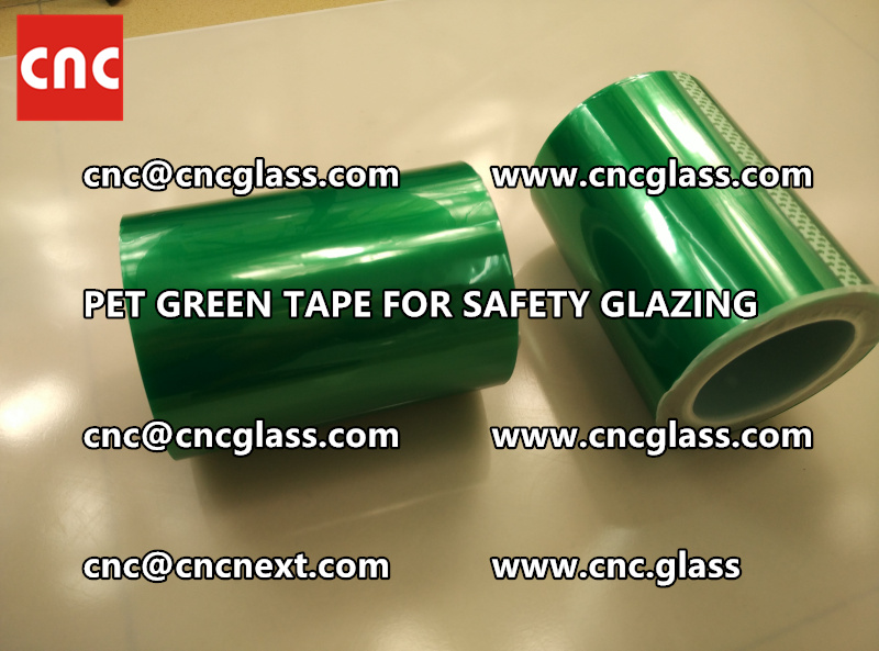 PET GREEN TAPE for eva film laminationglazing (4)