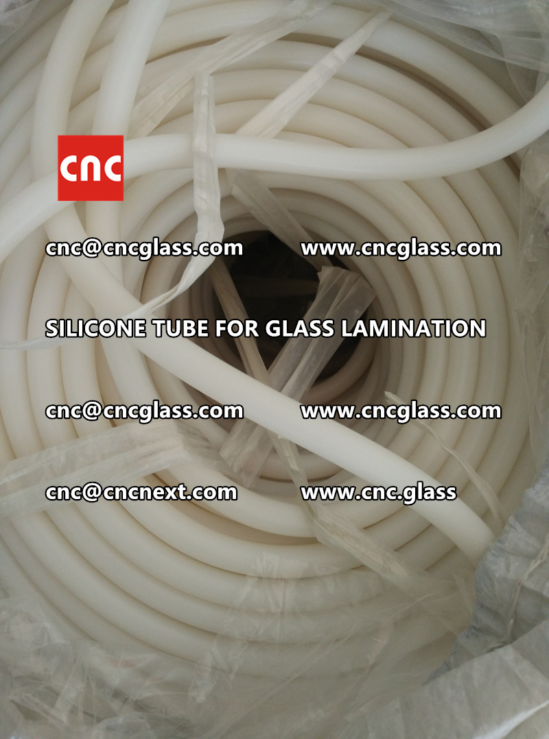 SILICONE TUBE for safety glass lamination vacuuming  (1)