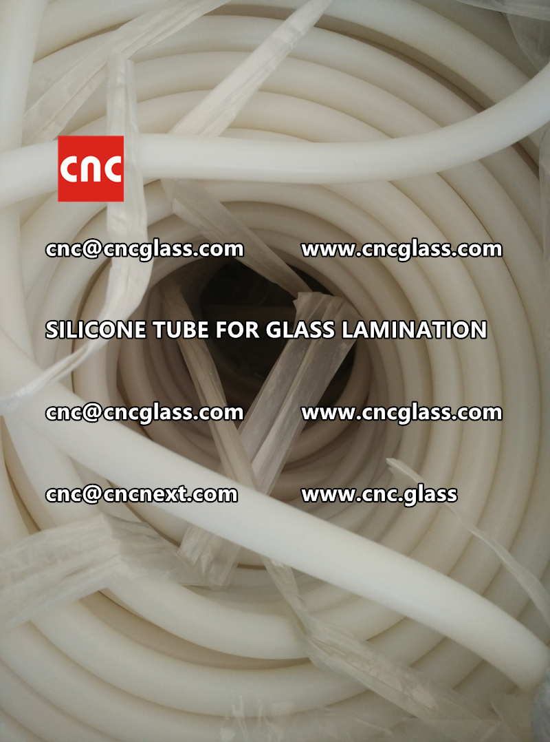SILICONE TUBE for safety glass lamination vacuuming  (10)