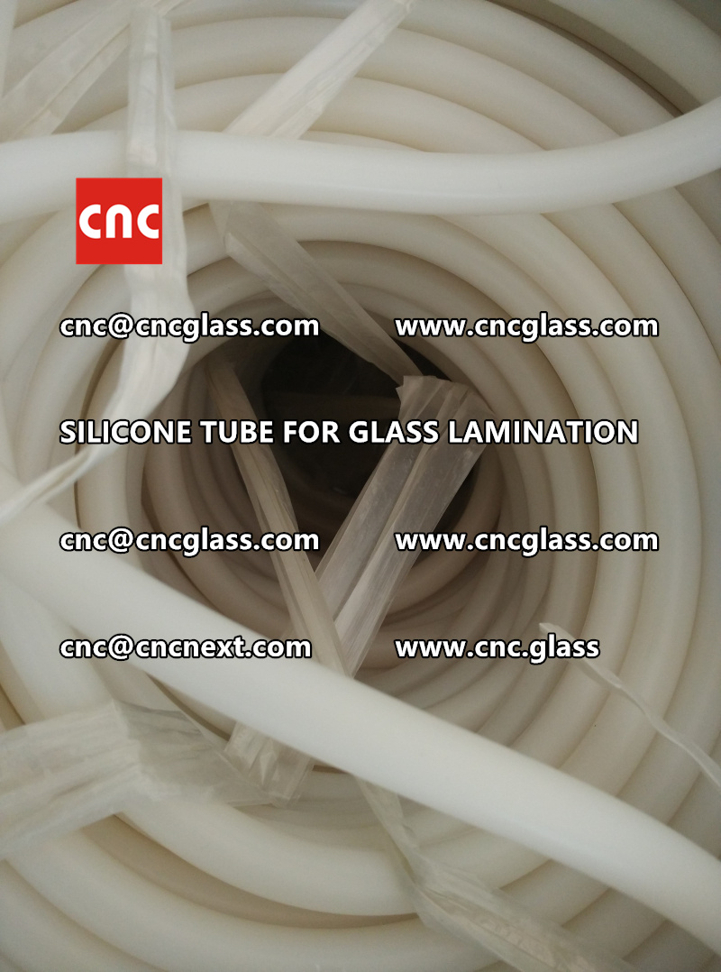 SILICONE TUBE for safety glass lamination vacuuming  (12)