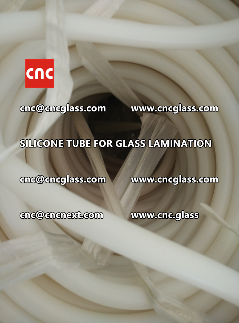 SILICONE TUBE for safety glass lamination vacuuming  (14)