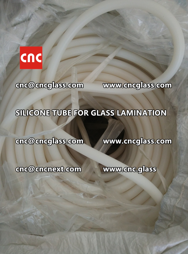 SILICONE TUBE for safety glass lamination vacuuming  (8)