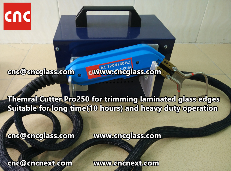 HEATING KNIFE HOT KNIFE THERMAL CUTTER for cleaning laminated glass edges EVA (102)