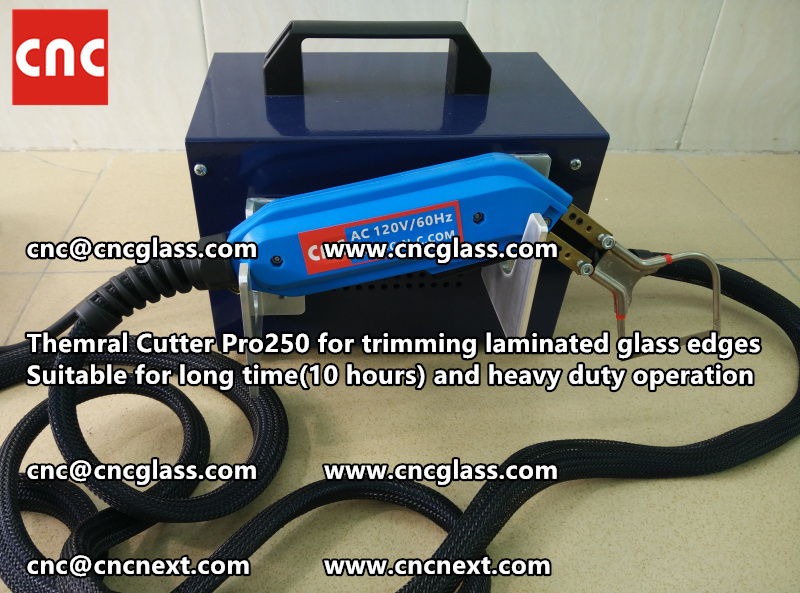 HEATING KNIFE HOT KNIFE THERMAL CUTTER for cleaning laminated glass edges EVA (103)