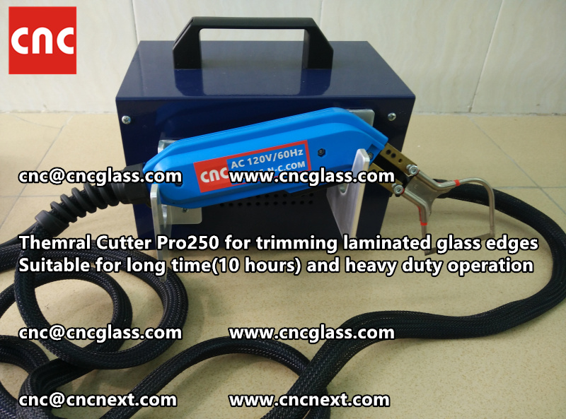 HEATING KNIFE HOT KNIFE THERMAL CUTTER for cleaning laminated glass edges EVA (106)