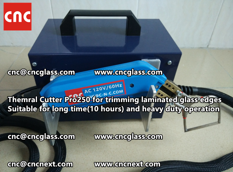 HEATING KNIFE HOT KNIFE THERMAL CUTTER for cleaning laminated glass edges EVA (21)