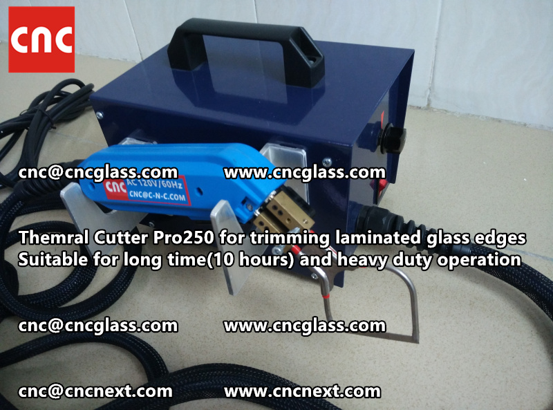 HEATING KNIFE HOT KNIFE THERMAL CUTTER for cleaning laminated glass edges EVA (23)