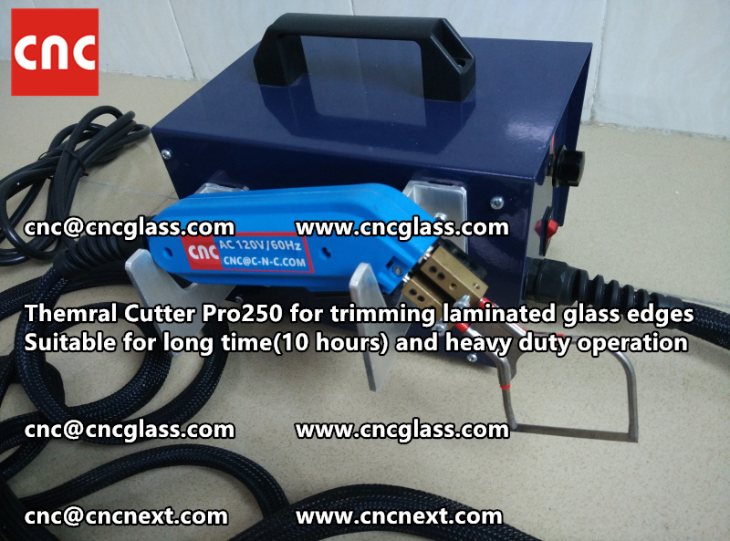 HEATING KNIFE HOT KNIFE THERMAL CUTTER for cleaning laminated glass edges EVA (40)