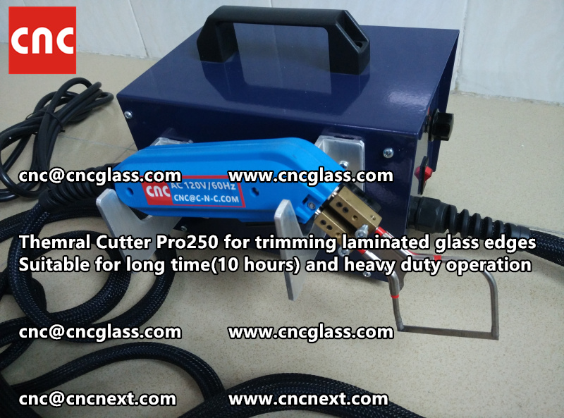 HEATING KNIFE HOT KNIFE THERMAL CUTTER for cleaning laminated glass edges EVA (43)