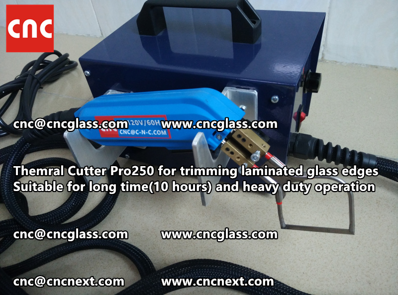 HEATING KNIFE HOT KNIFE THERMAL CUTTER for cleaning laminated glass edges EVA (44)