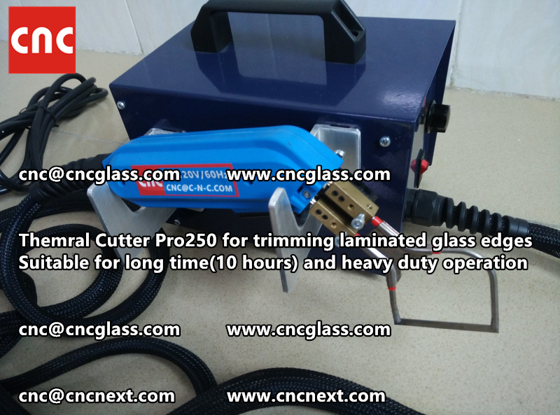 HEATING KNIFE HOT KNIFE THERMAL CUTTER for cleaning laminated glass edges EVA (46)