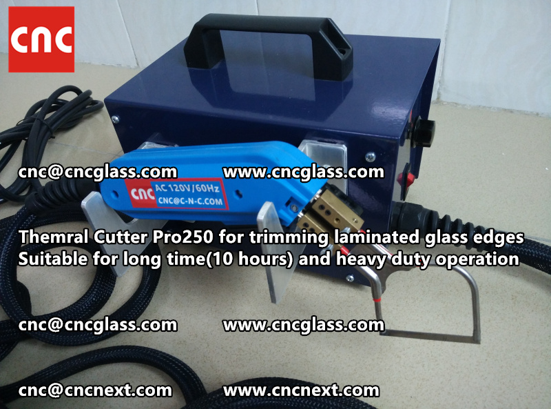 HEATING KNIFE HOT KNIFE THERMAL CUTTER for cleaning laminated glass edges EVA (51)