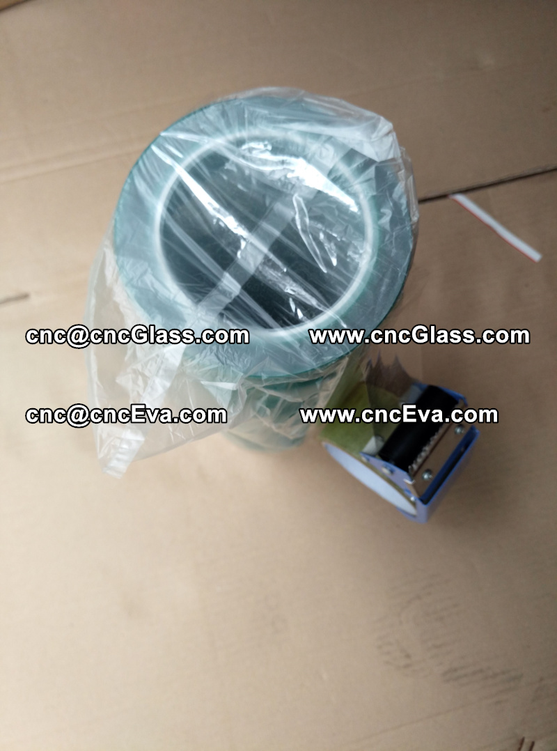 heating resistanse green PET tape for glass oven (1)