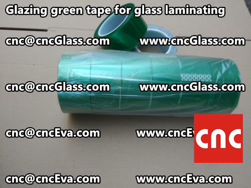 Green tape for safety glass laminating glazing (3)