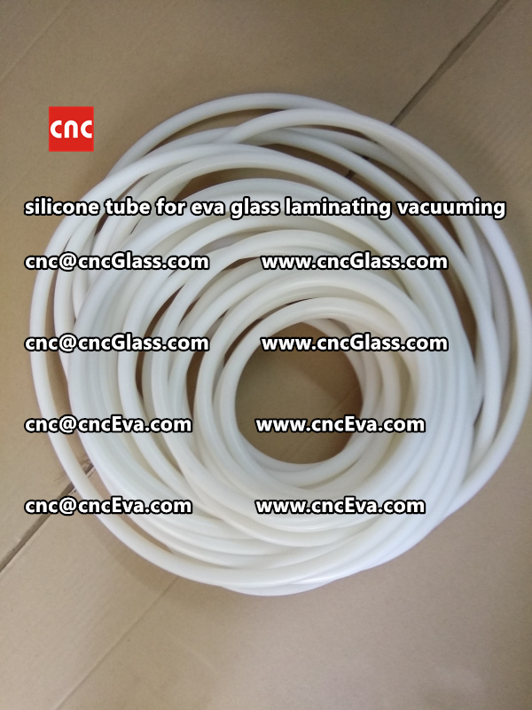 Silicon tube for glass laminating vacuuming  (10)