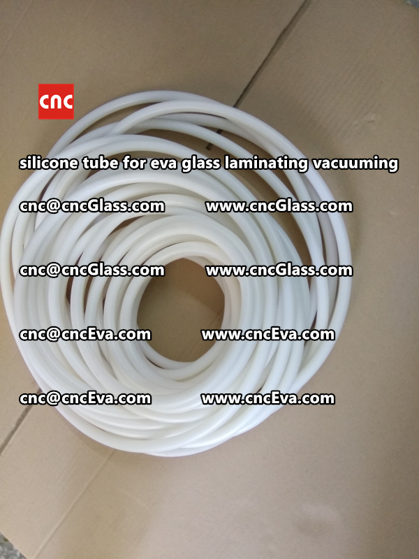 Silicon tube for glass laminating vacuuming  (3)