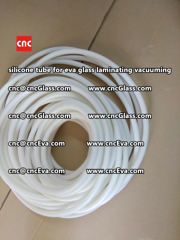Silicon tube for glass laminating vacuuming  (6)