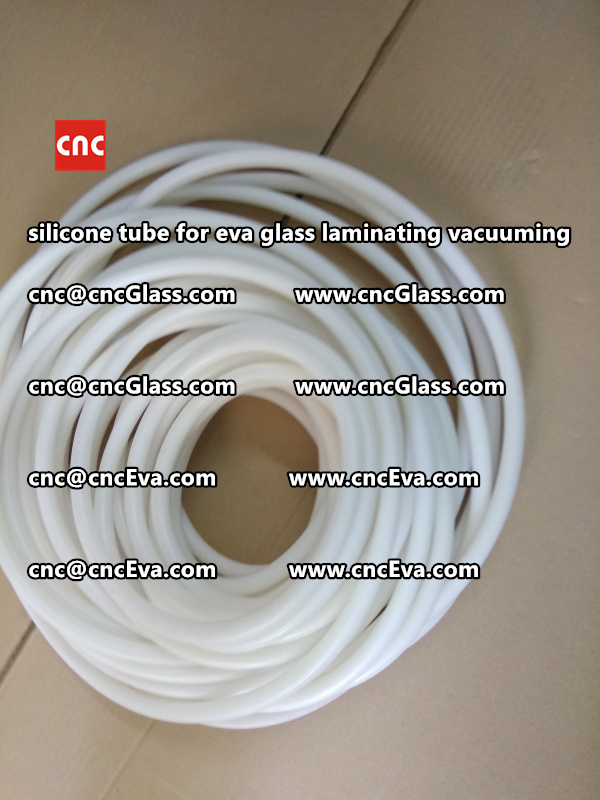 Silicon tube for glass laminating vacuuming  (7)