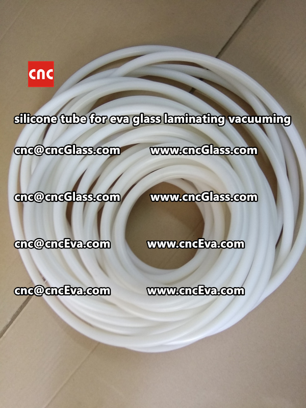 Silicon tube for glass laminating vacuuming  (8)